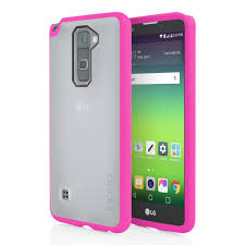 lg stylo 2 cases. incipio octane stylo 2 case frost/pink back/front lg cases o