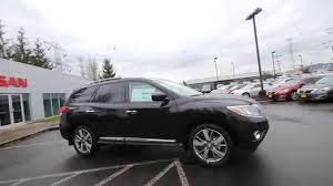 2015 nissan pathfinder black. 2015 nissan pathfinder platinum magnetic black fc623546 kent tacoma youtube