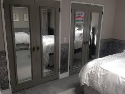 image mirrored sliding closet doors toronto contemporary doors design bedroom closet mirror sliding doors image