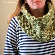 Knitted Scarf Patterns Using Bulky Yarn Custom Chunky Infinity Scarf Pattern