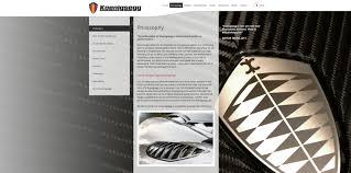 Koenigsegg Launches Updated Website