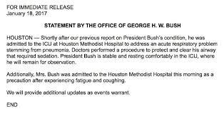 Bush resume