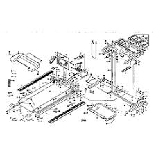 weslo model wltl25070 treadmill genuine parts unit parts