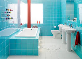 Small Picture Modern and Beautiful Bathrooms Design Ideas with Blue Shades HAG