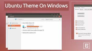 windows theme free get ubuntu linux theme for windows 10 and windows 7