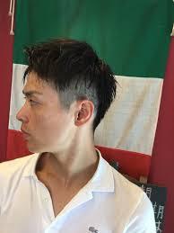 メンズ髪型 インフィニィト 板宿店 On Twitter 男のアップバング 前髪