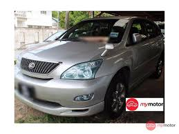 2004 Toyota Harrier for sale in Malaysia for RM55,000 | MyMotor