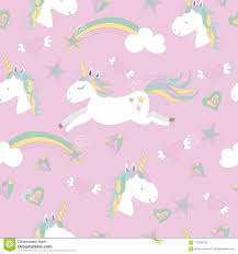 Vector Seamless Pattern With Magical ...