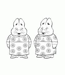 Small Picture Max And Ruby Coloring Pages Cartoon Download8 Cartoon