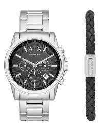 Armani Exchange <b>SMART WATCH</b> + BRACELET GIFT SET, <b>Fashion</b> ...