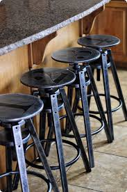 industrial metal furniture. Custom Painted Industrial Stools Metal Furniture T