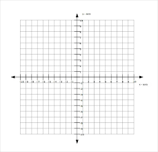 Printable Labeled Graph Paper Graph Paper With Axis Graph Paper With