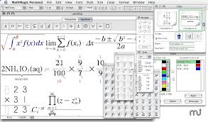 screenshot 1 for mathmagic personal edition