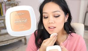 new 16 hr loreal true match mineral pressed powder first impression review itsjudytime you