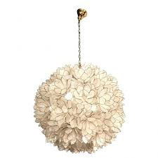 capiz lotus flower chandelier eimat view 6 of 25