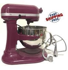 kitchenaid rkp26m1x refurb of kp26m1x pro 600 stand mixer 6 qt large capacity boysenberry by
