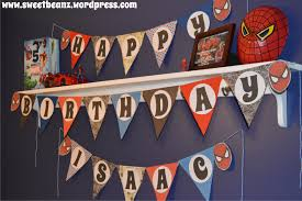 make your own birthday banner diy pennant banner template for your next party sweetbeanz