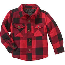 Healthtex Baby Toddler Boy Quilted Flannel Shirt Jacket - Walmart.com & Healthtex Baby Toddler Boy Quilted Flannel Shirt Jacket Adamdwight.com