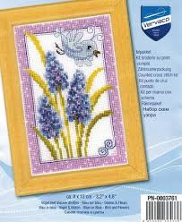 Vervaco Cross Stitch Charts Vervaco Cross Stitch Kit Blue Veronica