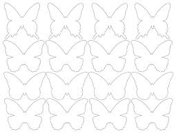 Printable Butterfly Outline Butterfly Printable Pattern Major Magdalene Project Org