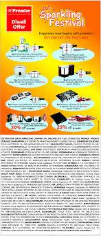 Offer On Kitchen Appliances Premier Kitchen Appliances Diwali Offer Bangalore Saleraja