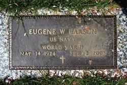 Eugene Wesley Larson (1924-2003) - Find A Grave Memorial