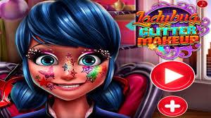 ladybug glitter makeup kids games for s you