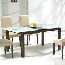 endearing frosted glass dining table and chairs frosted design