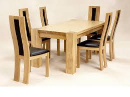 oak dining table and chairs. Oak Dining Room Table And 6 Chairs Ebay B