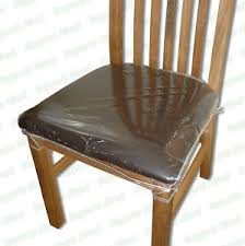 image is loading strong dining chair protectors clear plastic cushion seat