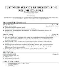 Call Center Resumes Examples Example Call Center Resume Best