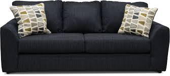 dark blue sofa. Casual Contemporary Dark Blue Sofa - Hannah