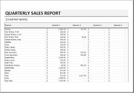 business quarterly report template quarterly sales reports barca fontanacountryinn com