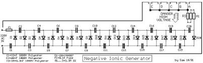 high voltage happiness how to make a negative ion generator how to make a negative ion generator circuit