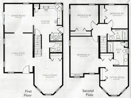 Wonderful House Floor Plans 4 Bedroom 3 Bath 2 Story Memsahebnet