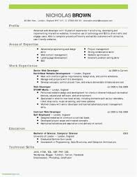 Simple Resume Template Word Lovely How To Create A Resume For Free