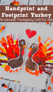 Adorable Handprint and Footprint Turkey Thanksgiving Kids: Easy to make for  kids to decorate for Thanksgiving or give to people in their life they are  ...