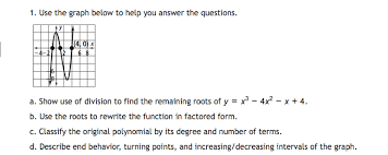 Classifying Polynomials By Degree And Number Of Terms Chart Solved 1 Use The Graph Below To Help You Answer The Ques