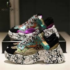 <b>Prova Perfetto</b> 2019 Sneakers <b>Women</b> Trendy Chunky Dad Shoe ...