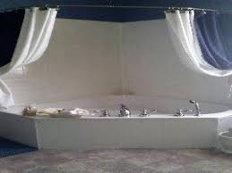 smlf size corner garden tub shower curtains small images bathroom corner bath shower curtain rail csr2 bathroom