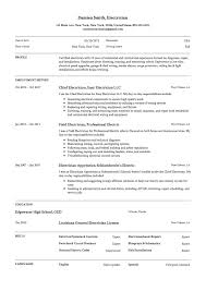 Sample Of Electrician Resumes Guide Electrician Resume Samples 12 Examples Pdf