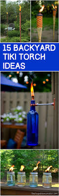 Great Tiki Torches For Your Backyard Bar Or Barbecue  Outdoor BarBackyard Torch