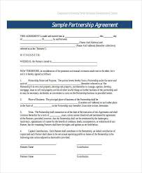 50 50 Partnership Agreement Form Elegant Sample Vacation Rental ...