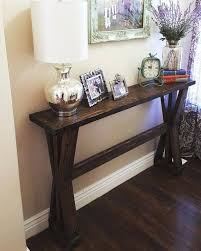 distressed entry table. rustic distressed entry table e