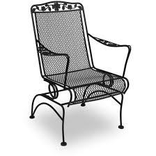 outdoor wrought iron furniture. meadowcraft dogwood wrought iron patio coil spring chair charcoal for outdoor wrought iron patio furniture outdoor furniture