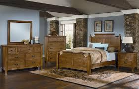 Timber Mill Broomhandle Bedroom Set (Oak) Vaughan Bassett ...