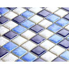 blue ceramic mosaic tiles blue and white porcelain tile mosaic tiles glazed ceramic tile bathroom wall blue ceramic mosaic tiles