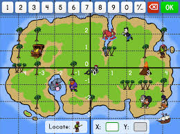 Design A Treasure Map Activity Coordinate Graphing Game Education Com