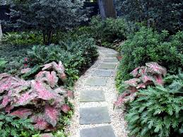 Small Picture Ideas for individual garden path design a highlight in the