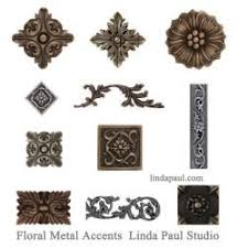Decorative Metal Tile Accents collection of metal flower accnet tiles and borders You Gotta 1